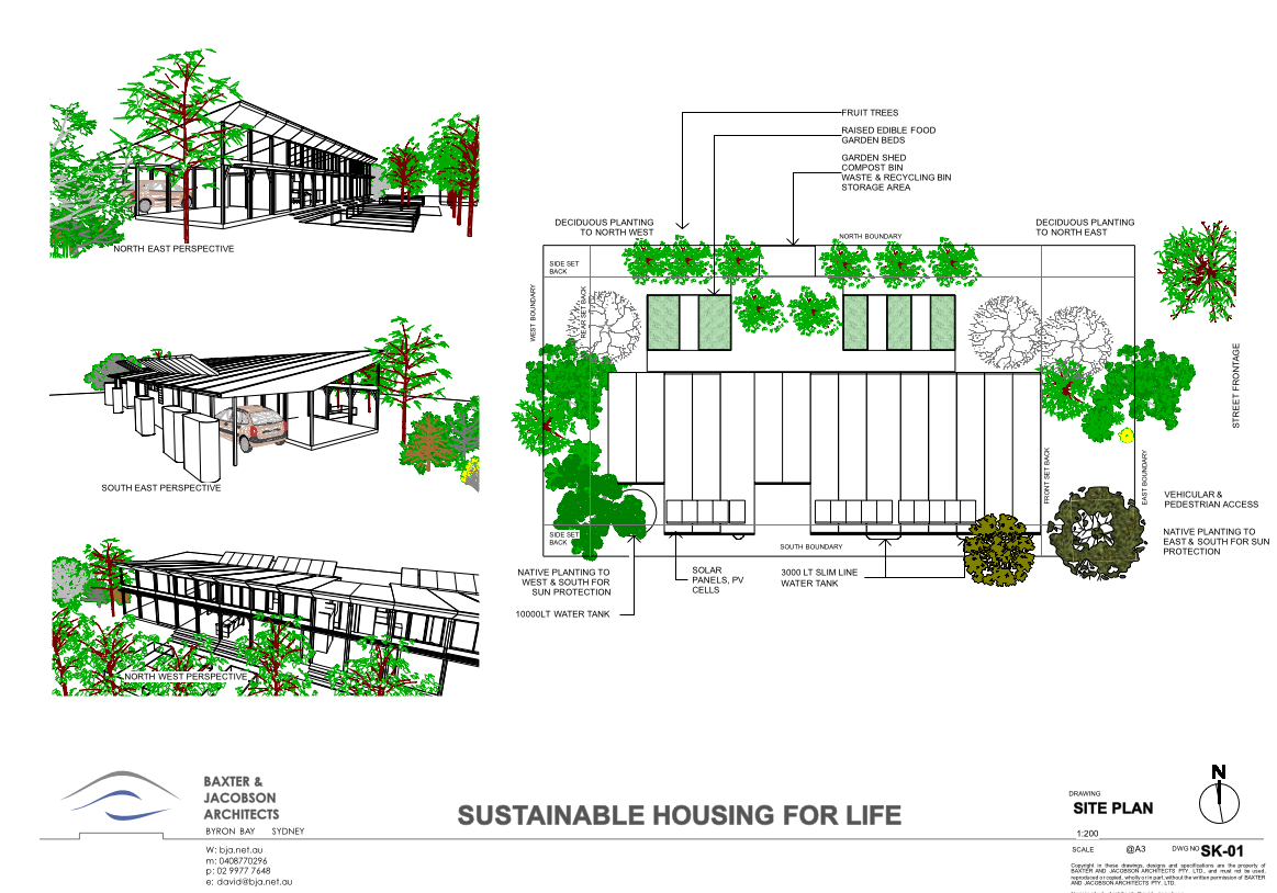 Sustainable Housing For Life Competition Baxter Jacobson